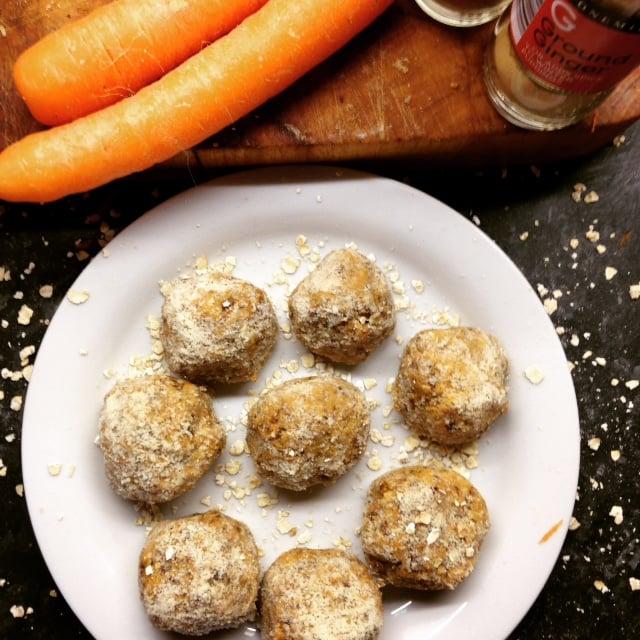 Carrot Cake Power Balls
