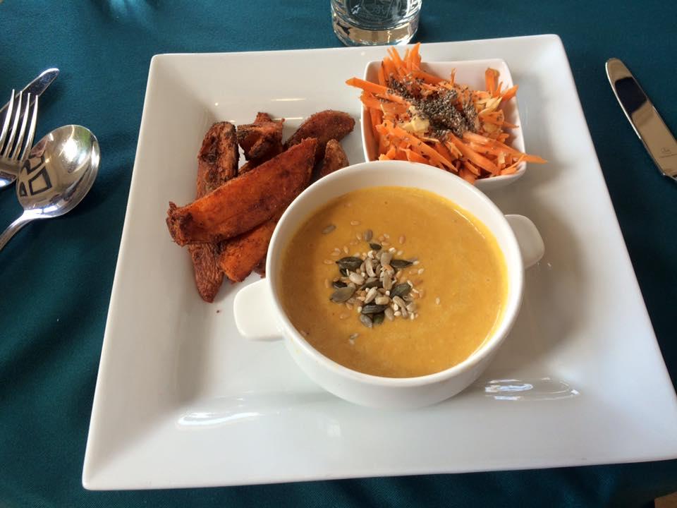 Carrot, Almond and Chia Salad