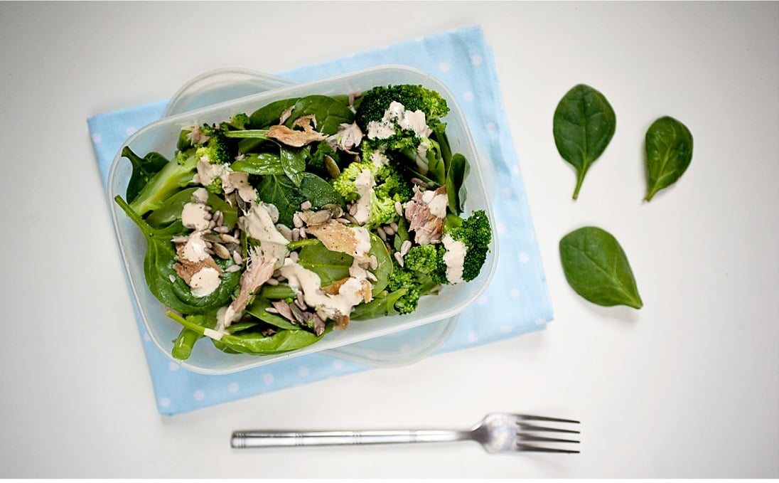 Mackerel and Greens Salad